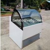 Hard Ice Cream Counter Refrigerators Ice Cream Showcase