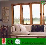 Ventana y puerta de aluminio estándar europea | Ventanas de toldo con doble acristalamiento económico con hardware Siegenia