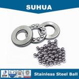 G100 304 bolas de acero inoxidables de acero de la bola 5m m