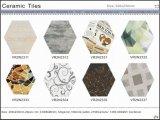 Azulejo rústico del hexágono del azulejo del arte para el material de construcción (VR2N2302, 200X230m m)