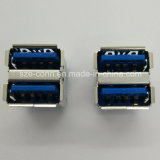 Stack High Speed USB3.0 Vertical Anle Connector
