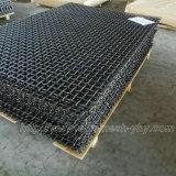 Hochfester Stahl-gesponnenes Bildschirm-Ineinander greifen für vibrierende Steinzerkleinerungsmaschine