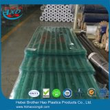 Het industriële Duurzame Antistatische Groene Duidelijke Gordijn van de Deur van de Strook van pvc van de Harmonika Flexibele