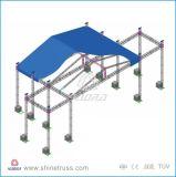 Круговая ферменная конструкция алюминия ферменной конструкции крыши свода
