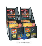 Máquina de juego de baloncesto de la arcada para el parque de atracciones de interior (ZJ-BG02-1)