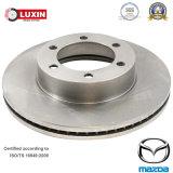 Rotore scaricato & anteriore del freno a disco per Mazda