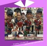 Il mestiere della resina Bobble i Figurines capi per il ricordo P017-062