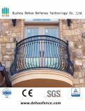 Rete fissa d'acciaio del balcone dello zinco modellato di alta qualità per la Camera