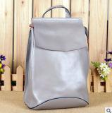 Zaino coreano del cuoio di modo di spalla della borsa di cuoio del sacchetto
