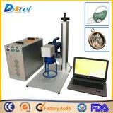 De Laser die van de Vezel van de Machine van de Graveur van de Laser van het metaal 20W Systeem merken