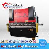 Freio da imprensa hidráulica do Nc Wf67k 125t/6000 do preço do competidor com o controlador A62 para o aço de carbono de dobra