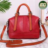 2017 Trendy Luxury Quality Women Genre et cuir véritable sac à main en cuir véritable Emg5041