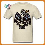 [لكرا] [كتّون فبريك] عالة رياضة [ت] قميص مع طباعة