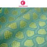 Tela suiza africana 100% del cordón de la gasa del último algodón del diseño