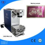 Faser-Laser-Foto-Gravierfräsmaschine zu den Markierungs-Zeilen für Verkauf