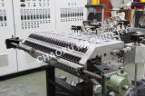 Cadena de producción plástica de la maquinaria de la protuberancia de las solas capas de la PC para el equipaje