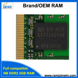 De RAM van Laptop/SODIMM PC2-6400 2GB DDR2