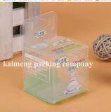 Caixa plástica impressa projeto do pacote do alimentador do OEM PP com punho (caixa do alimentador dos PP)
