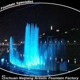 Le RVB colore l'entrepreneur de fontaine de projet d'eau