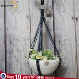Heiße Verkäufemacrame-Blumen-Potenziometer-Aufhängungs-Fertigkeit