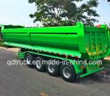 3-4 remorque de emboutage chinoise d'essieux, remorque de tombereau à vendre