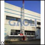 Gaoliのマスト上昇作業プラットホームSCP220/10d