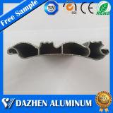 6063 T5 rolo porta do obturador Extrusão de Alumínio perfil com anodizado