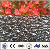 Hoja grabada sólida del policarbonato del Muti-Color para los materiales de material para techos