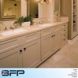 Vanità classica della stanza da bagno di stile del PVC del comitato bianco da vendere