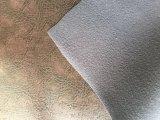 Couro artificial do plutônio para o sofá de Upholstery