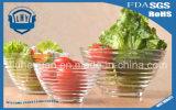 創造的なフリンジによって先を細くされるサラダガラス・ボール