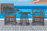 Cadeira do Rattan e tabela de chá de imitação Garden-1 ao ar livre ajustado