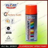 Pintura de pulverizador fluorescente do aerossol reflexivo colorido do pigmento