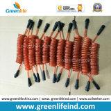 Acciaio elastico Ring&Carabiner della sagola W/Stainless dello strumento di memoria di plastica arancione