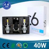 Faro del fornitore LED della Cina del faro dei ricambi auto 4500lm LED 2 anni di garanzia