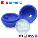 DIYのスターウォーズのシリコーンのアイスボールの立方体型の皿の砂漠球のアイスホッケー型の台所ツール