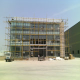 Beautifual Stahlkonstruktion-Bürohaus mit großem Platz