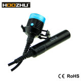 Hoozhu D33 CREE LED Tauchens-Licht 4X CREE Xm-L2 LED mit maximalem 4000lumens