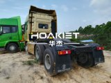 Shacman 6X4 디젤 엔진 10 바퀴 트랙터