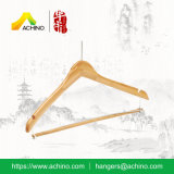 Bamboe Clothes Hanger met Anti Theft Hook (BSH200)