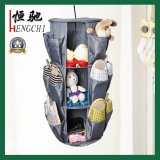 Round Slipper Grocery Kleiderschrank Hanging Storage Bag