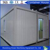 Casa plegable del envase de la casa prefabricada elegante del envase del edificio modular con los paneles ligeros de la estructura de acero y de emparedado