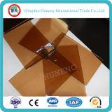 """vetro """"float"""" Bronze dorato di 6mm fatto in Cina sulla vendita calda"""