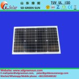 panneaux solaires mono de 18V 35W-40W pour le système 12V (2017)
