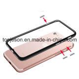 Suposición vendedora caliente TPU y caja del teléfono de la PC para el iPhone 7