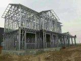 La costruzione prefabbricata si dirige la struttura chiara del blocco per grafici d'acciaio