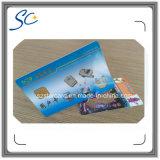 Cartão o mais atrasado personalizado do contato CI