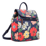 Les rétro configurations florales imperméabilisent les sacs à dos de toile de PVC (99193)