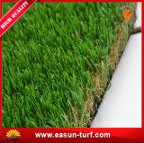Hierba artificial de la hierba sintetizada para el verde del jardín del paisaje