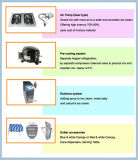 Vorkühlung und Luftpumpe-Eiscreme-Hersteller-Maschine